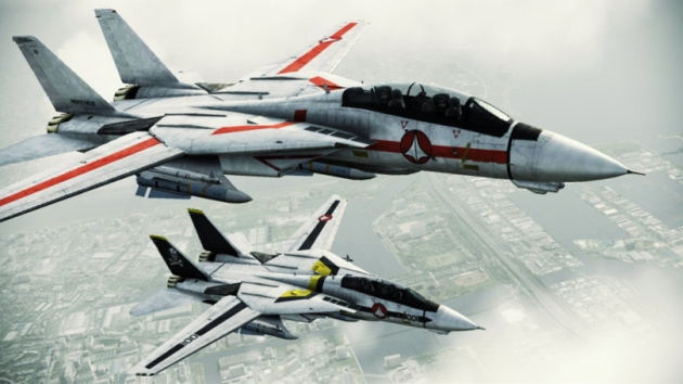 Macross Ace Combat F-14 VF-1