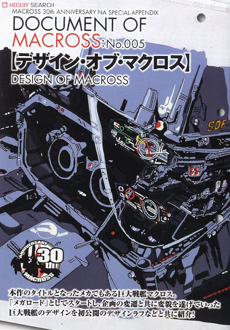 Document of Macross 005 Newtype Ace 12