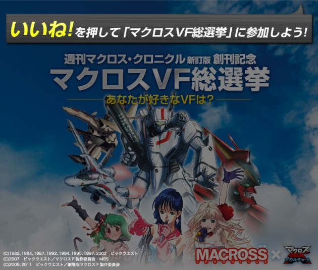 Macross Chronicle plebiscyt