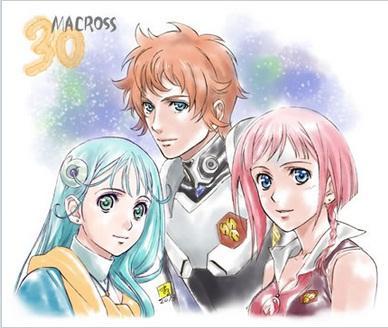 Macross 30 postacie