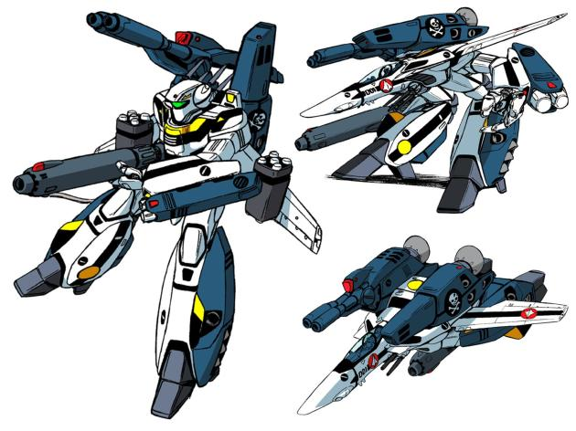 VF-1S SDF Macross serial