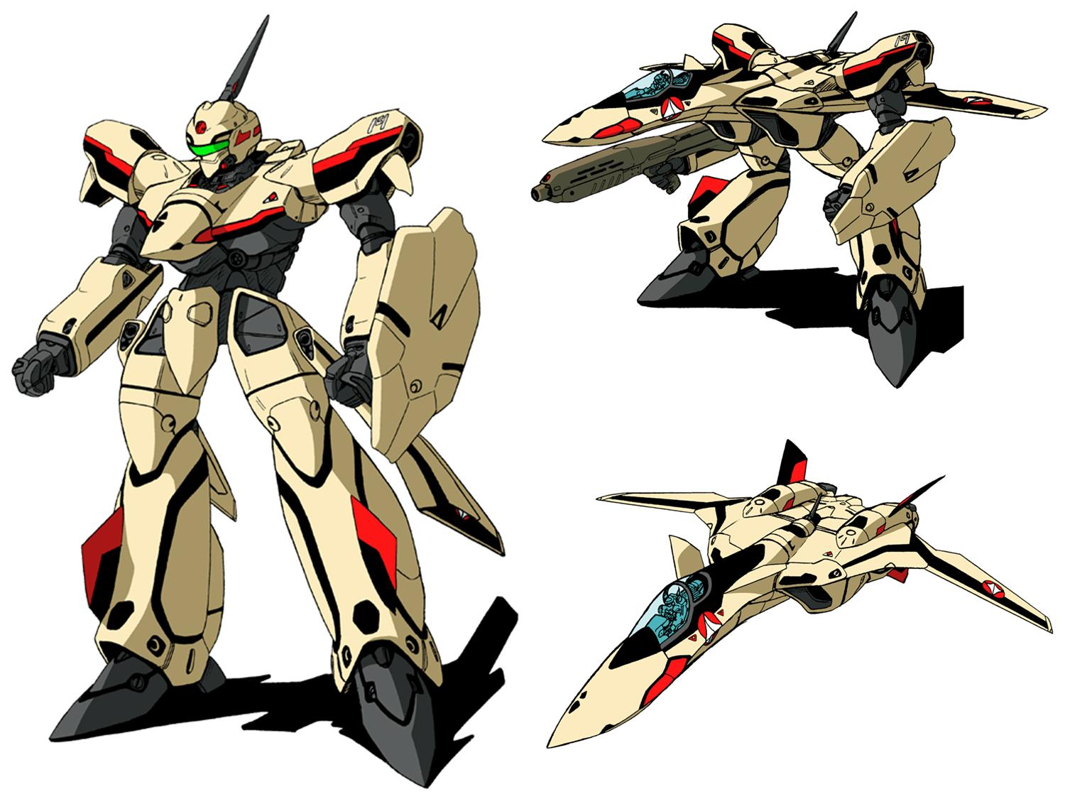 YF-19 Macross Plus serial
