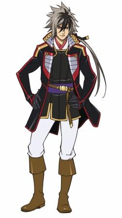 Oda Nobunaga projekt postaci